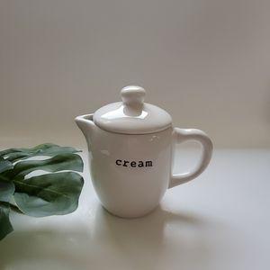 Pottery Barn Cream Container